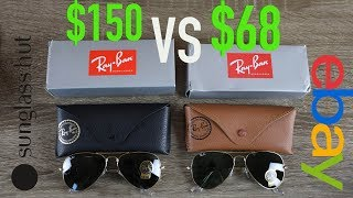 Download How to Spot Fake Ray Ban Aviators Full Guide - Sunglass Hut vs eBay Video