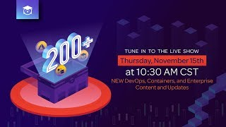 Download NEW DevOps, Containers, and Enterprise Content and Updates   The Great 200+ Live Show Video