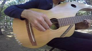 Download The Sound of Silence - 18 String Harp Guitar Cover Video
