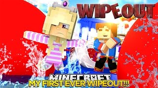 Download KIDS WIPEOUT   MY FIRST EVER WIPEOUT!!!Baby Leah Minecraft Roleplay! Video