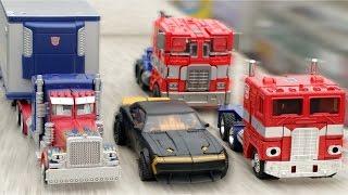 Download Transformers Optimus Prime Bumblebee StopMotion Robot Car Toys 트랜스포머 옵티머스프라임 범블비 스톱모션 장난감 자동차 변신 동영상 Video