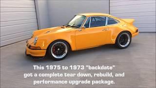 Download 1975 911 RSR Backdate w/ 3.8L COMPLETE BUILD Video