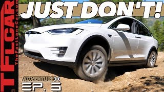 Download Can a Tesla Go Off-Road Up a Rocky Mountain? We Compare It to an Old-School SUV | Adventure X Ep. 3 Video