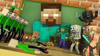 Download Monster School : TINY BALDI APOCALYPSE - Minecraft Animation Video