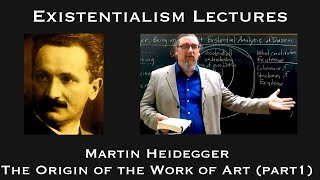 Download Existentialism: Martin Heidegger, The Origin of the Work of Art (part 1) Video