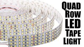 Download World's Brightest LED Light Strips; Quad LED Tape Light Video