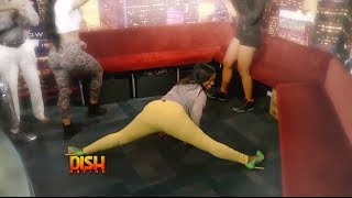Download Rapper Cash Out Gets Kandi Burruss To Twerk In The Studio! Video