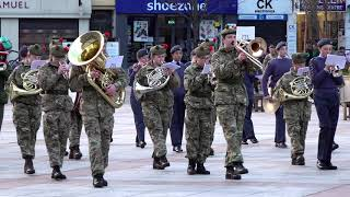 Download Marching Medley includes Jerusalem & Donald where's your Troosers - Dundee, Scotland 2019 Video