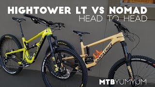 Download 2018 Santa Cruz Hightower LT vs Nomad Video