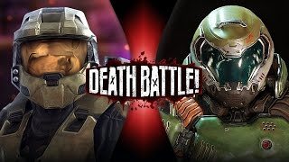 Download Master Chief VS Doomguy (Halo VS Doom) | DEATH BATTLE! Video