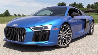 Download 2017 Audi R8 V10 Plus - Start Up, Road Test & In Depth Review Video