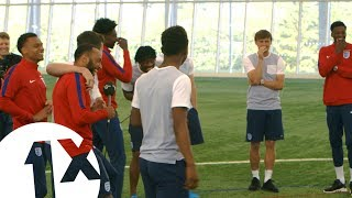 Download Football Karaoke with England's Under 21 football team Video