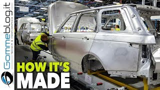 Download 2018 RANGE ROVER Production - CAR FACTORY - How It's Made ASSEMBLY Video