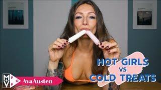 Download Hot Girls vs. Cold Treats: Ava Austen Video