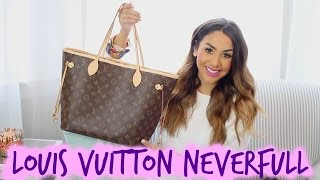 Download What's in My Purse?! LOUIS VUITTON NEVERFULL MM | ALEXANDREA GARZA Video