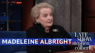 Download Madeleine Albright Says 'See Something, Say Something, Do Something' Video