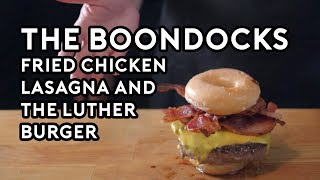 Download Binging with Babish: Fried Chicken Lasagna & The Luther Burger from the Boondocks Video