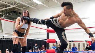 Download Kris Statlander vs. Christian Casanova - Limitless Wrestling (Intergender, Mixed, Beyond) Video