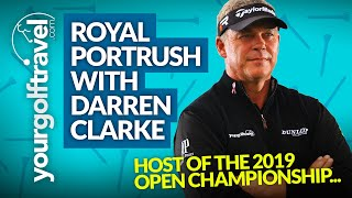 Download Your Golf Travel - Day with Darren Clarke at Royal Portrush, Northern Ireland Video