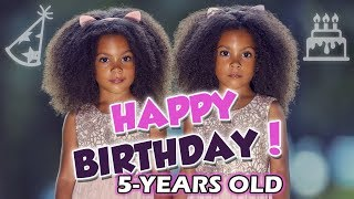 Download AVA & ALEXIS ARE 5! HAPPY BIRTHDAY TWINS! Video