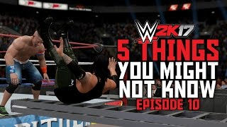 Download WWE 2K17 - 5 Things You Might Not Know! #10 (Bonus Ladder Finishers, Flaming Table Glitch & More) Video