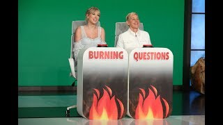 Download Taylor Swift Answers Ellen's 'Burning Questions' Video