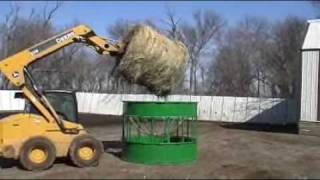 Download Hay Hoppper Goat and Sheep Feeder Video