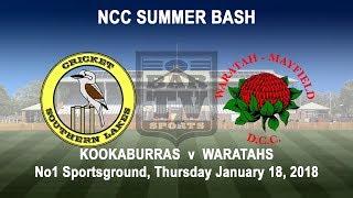 Download 2018 NCC Summer Bash - Kookaburras v Waratahs Video