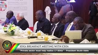 Download SGDs Breakfast Meeting with CEO's Video