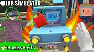Download Virtual Reality Auto Mechanic Job Simulator Video Game! HobbyPigTV Video