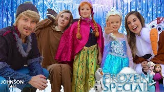 Download FROZEN HALLOWEEN SPECIAL! ❄️ The Johnson Fam Halloween Special 2017 Video
