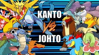 Download Battle of the Regions (KANTO vs JOHTO) - Pokemon Battle Revolution (1080p 60fps) Video