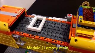 Download LEGO Mindstorms Milka-Chocolate-Factory Video