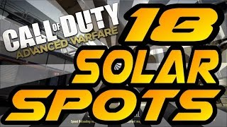Download 18 Solar Spots & Glitches! - Advanced Warfare (Jumps, Hiding & Infected Spots After Patch) Video