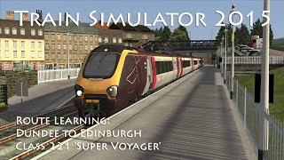 Download Train Simulator 2015 - Route Learning: Dundee to Edinburgh (Class 221) Video