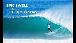 Download Epic Swell on the Gold Coast - Cyclone Gita 2018 (Kirra) Video