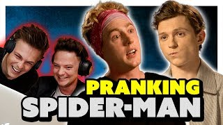 Download TOM HOLLAND INTERVIEW *PRANK* (EARPIECE) ft Conor Maynard & Caspar Lee Video