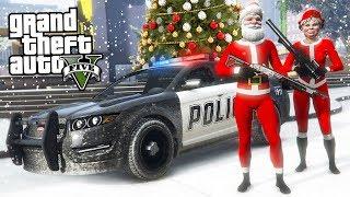 Download GTA 5 - COPS AND ROBBERS!! (GTA 5 Christmas DLC Update) Video