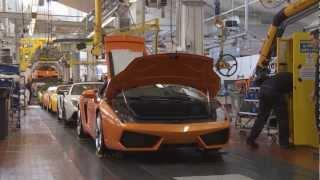 Download Lamborghini history - Part 4 - Making a Lambo HD Video