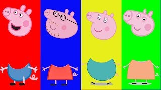 Download Wrong Heads Peppa Pig learning Matching game for kids Celeste corner Video