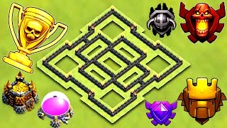 Download BEST TH7 TROPHY BASE 2017 | TOWN HALL 7 TROPHY / FARMING BASE 2017 | CLASH OF CLANS Video