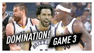Download Mike Conley, Marc Gasol & Zach Randolph Game 3 Highlights vs Spurs 2017 Playoffs - 66 Pts, SICK! Video