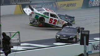 Download NASCAR Bristol Practice Crashes 1 Video