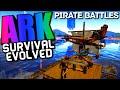 Download Ark Pirate Battles ″Raft VS Raft Combat″ Ark Survival Evolved Video