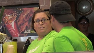 Download Fake Subway Employee Prank! (MAKING A SUB) Video