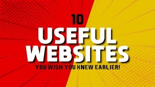 Download 10 Useful Websites You Wish You Knew Earlier! 2019 Video