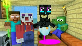 Download MONSTER SCHOOL : ENDERMAN BABY VS CLOWN - MINECRAFT ANIMATION Video