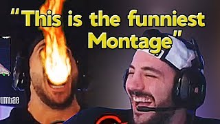 Download Nickmercs Reacts to Our Montage ″We Enhanced Nickmercs With This Fortnite Edit″ - Grumbae Video
