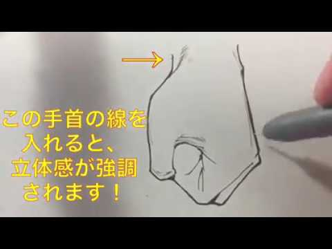Tutorial: Drawing Hands easy/Desenhando mãos facil