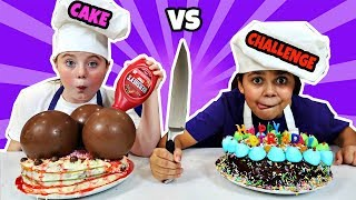 Download BIRTHDAY CAKE CHALLENGE!! Video